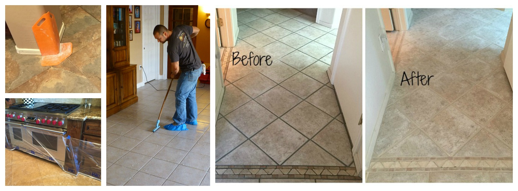 Ceramic Tile Cleaning Gallery