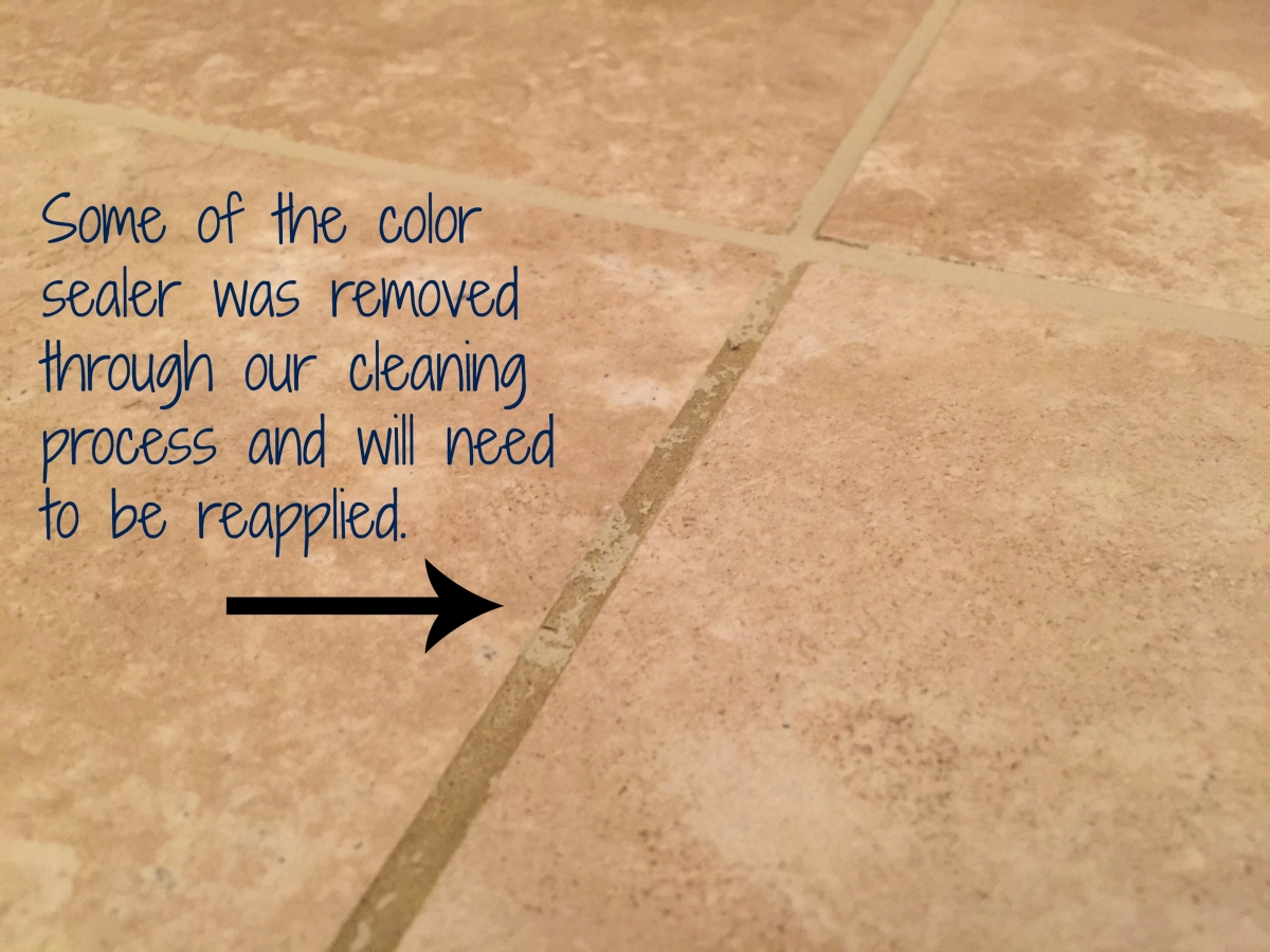 Ceramic tile cleaning gallery pv interiors grout color seal removed through cleaning topical sealer on tile tile cleaning tile cleaning ceramic dailygadgetfo Image collections