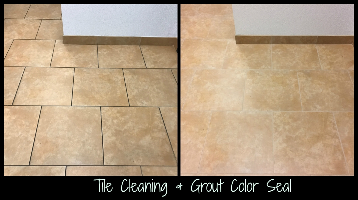 Tile Cleaning Grout Color Seal Ceramic
