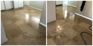 Gilbert Tile Cleaners-Scottsdale Travertine Polish-Discovery-Park