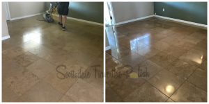 Gilbert Travertine Cleaning-Tile-Girl-PV Interiors Tile Cleaning