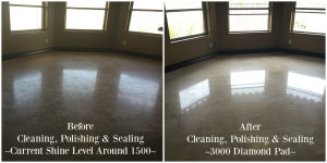 phoenix travertine polishing
