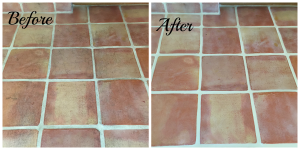 Saltillo Tile Cleaning Scottsdale