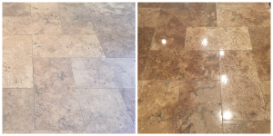 polishing travertine scottsdale