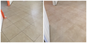 Tile Cleaning & Grout Color Seal