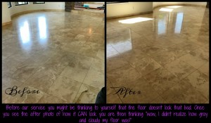 Travertine Cleaning & Polishing Kelly 2