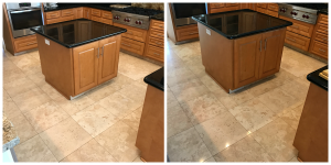 Travertine Cleaning & Polishing Kelly 3
