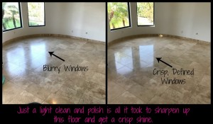 Travertine Cleaning & Polishing Kelly 5