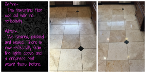 Travertine Cleaning & Polishing Maria 7