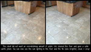 Travertine Cleaning & Polishing Miller 1