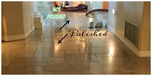 Travertine Polishing Koehler Example