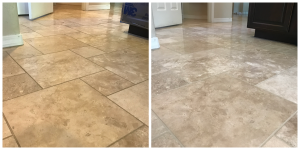 Travertine Polishing Koehler Kitchen 2