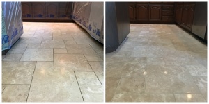 Travertine Polishing Koehler Kitchen 4