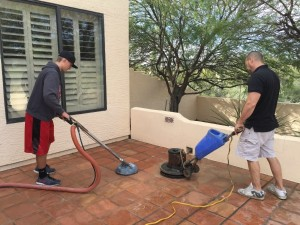 Saltillo Tile Cleaning Cave Creek